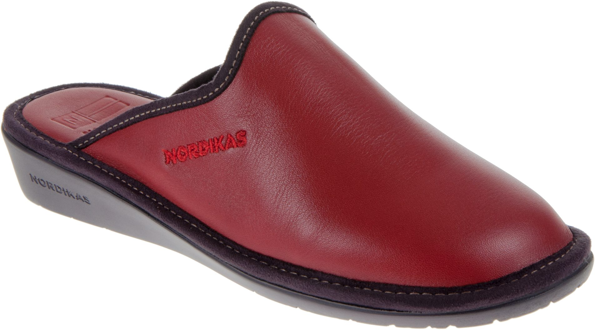 958d731db6ea0 Nordikas 347 Red 347/8 - Mule Slippers - Humphries Shoes