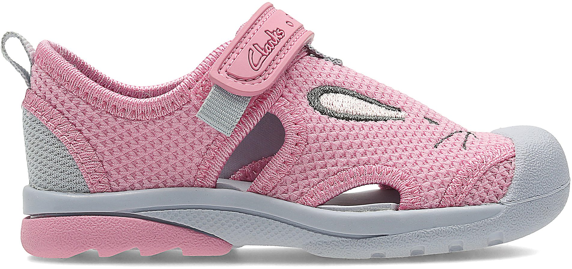 8258fe9fa38b Clarks Beach Molly First Baby Pink 26124013 - First Walkers - Humphries  Shoes