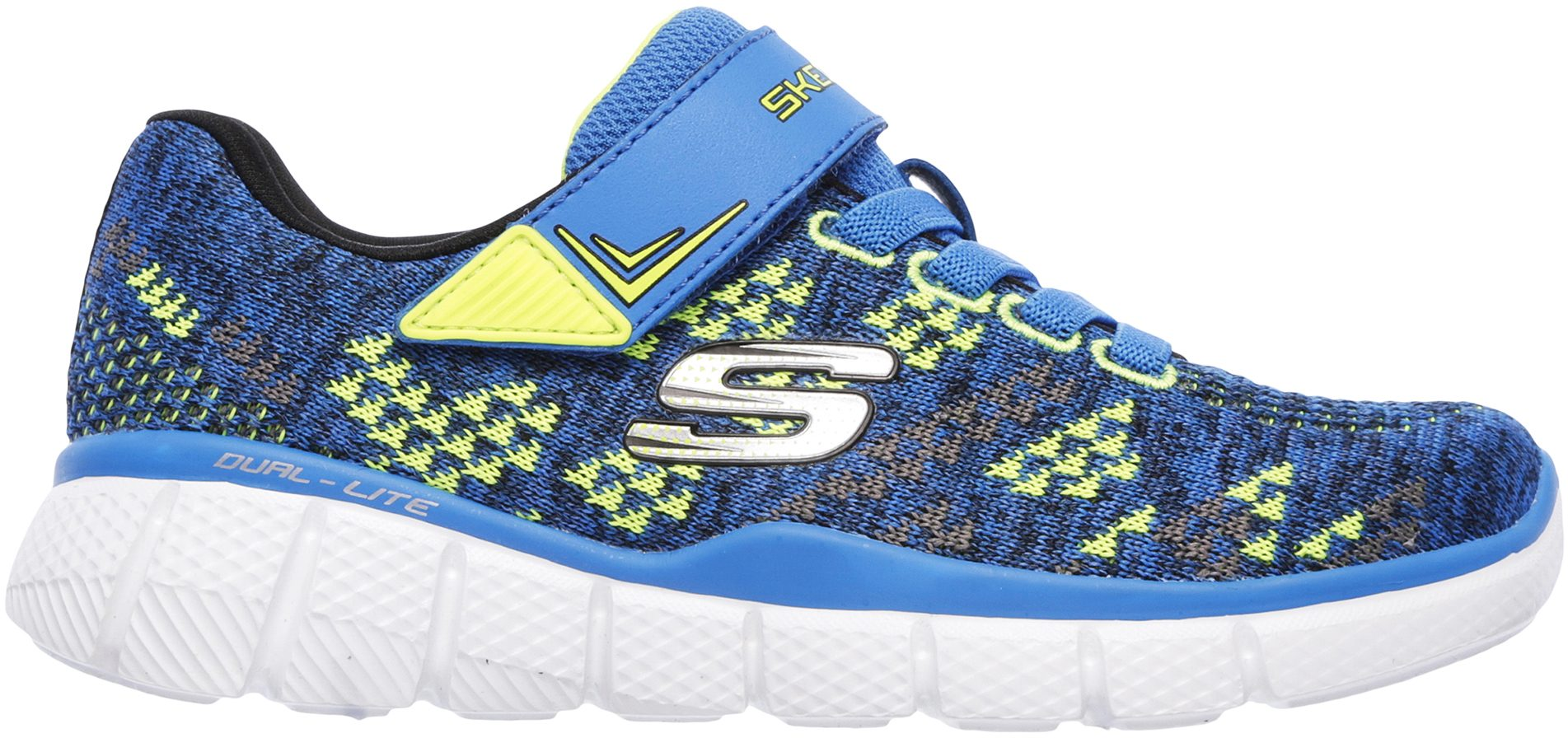 cfd69cf3348c Skechers Equalizer 2.0 - Point Keeper Blue   Lime 97379L BLLM - Boys  Trainers - Humphries Shoes