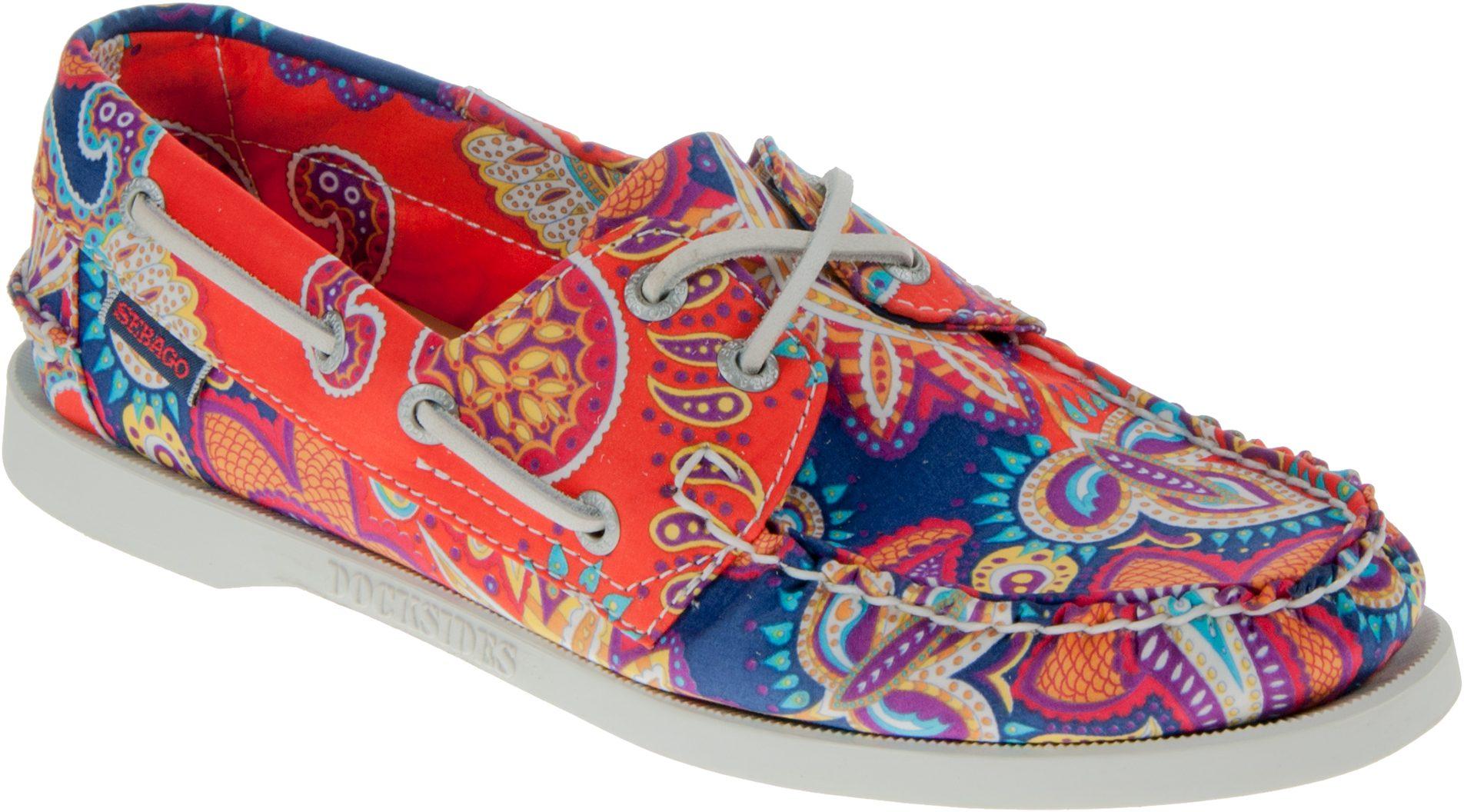 437eedb472a62 Sebago Docksides Womens Persia Liberty Print B500160 - Everyday Shoes -  Humphries Shoes
