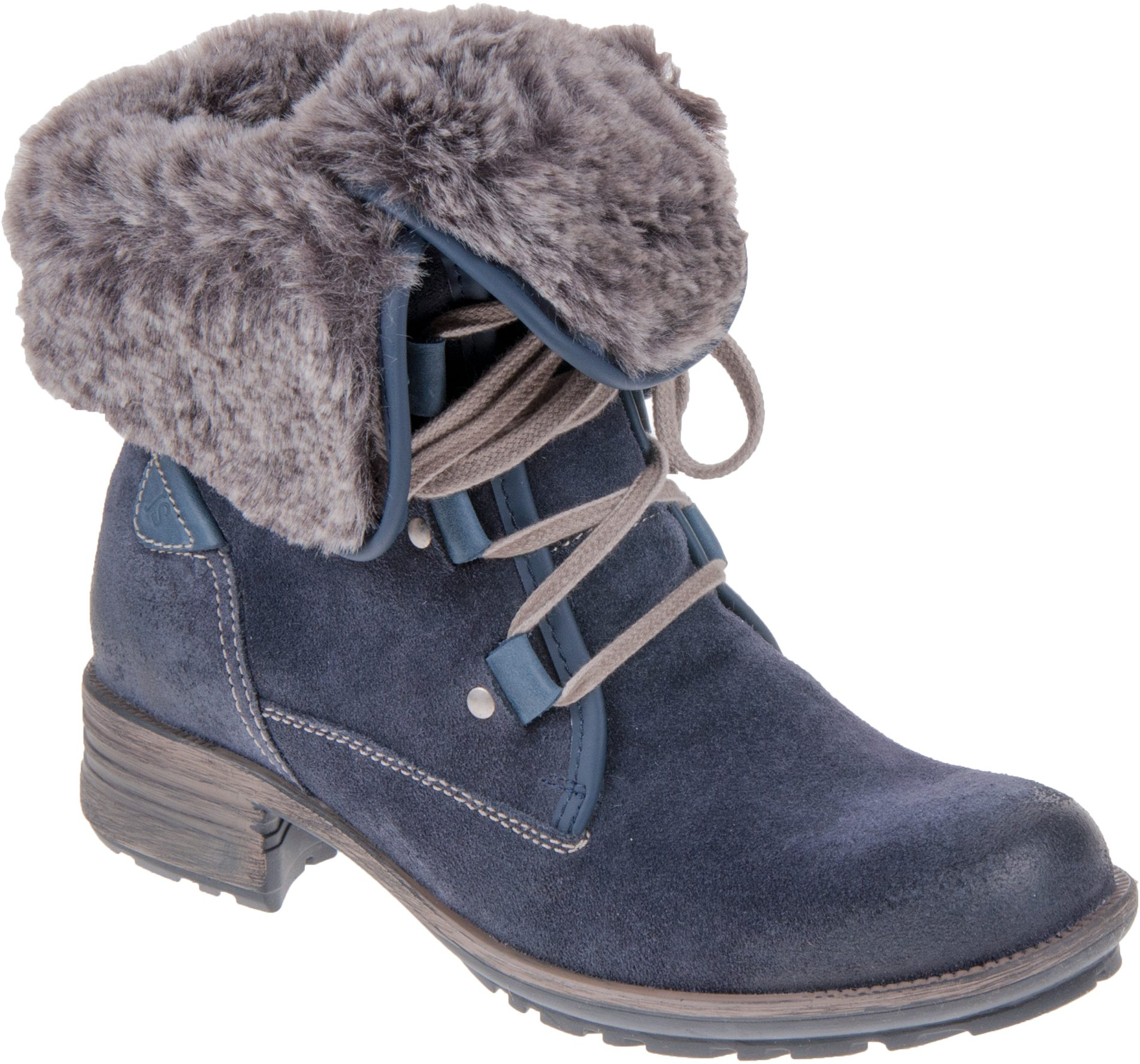 feeac37c6f11c Josef Seibel Sandra 04 Navy Suede 93688 PL949 596 - Ankle Boots - Humphries  Shoes