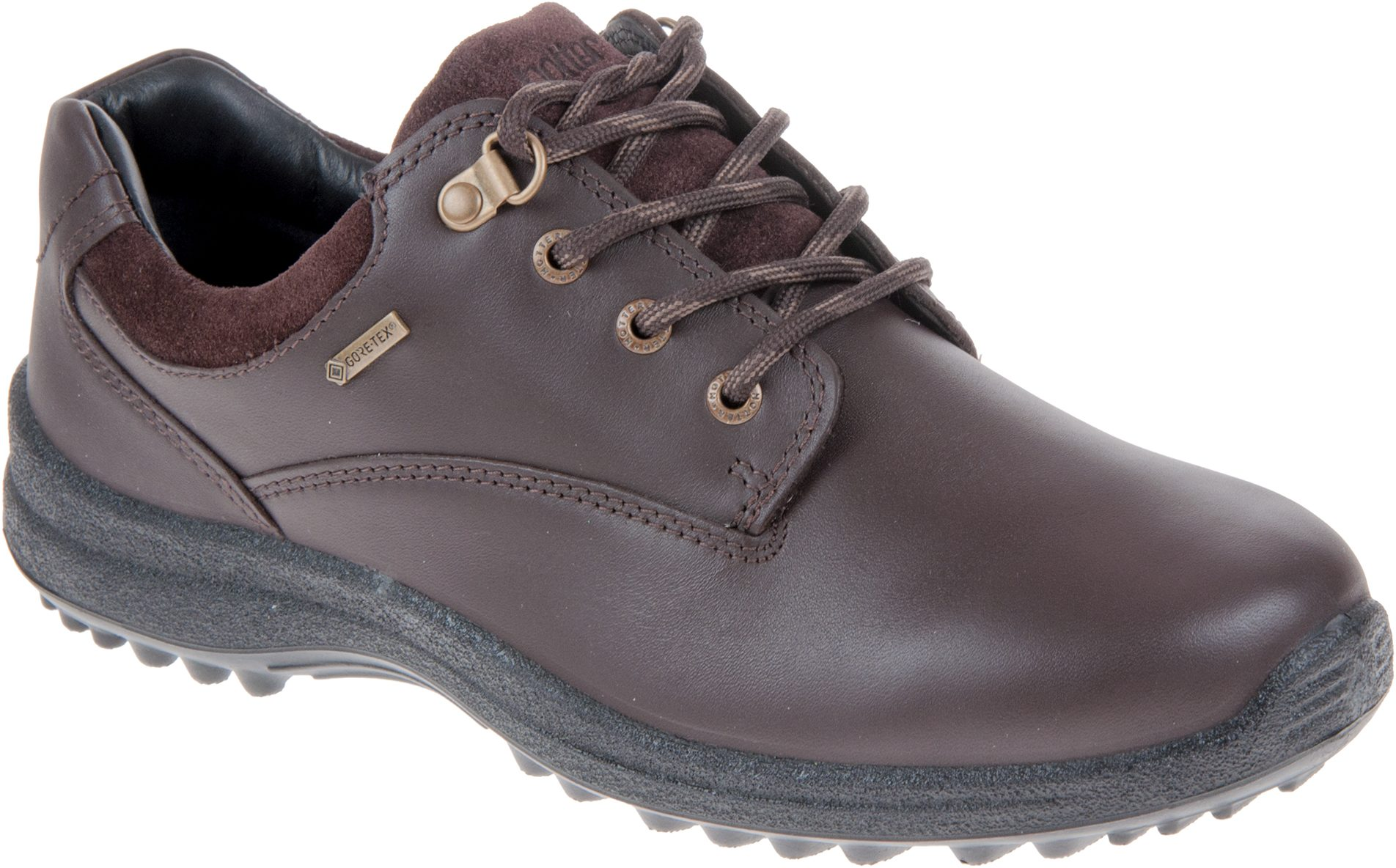 c3b7a476266a5 Hotter Ramble Gore-Tex Mahogany Leather   Suede - Womens Trainers -  Humphries Shoes