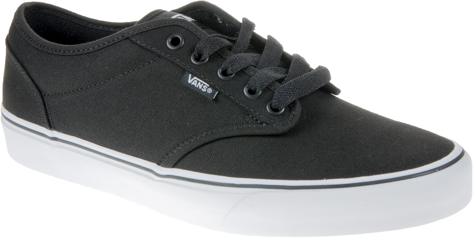 629d72b65640 Vans Atwood Black   White Canvas VN000TUY187 - Casual Shoes - Humphries  Shoes
