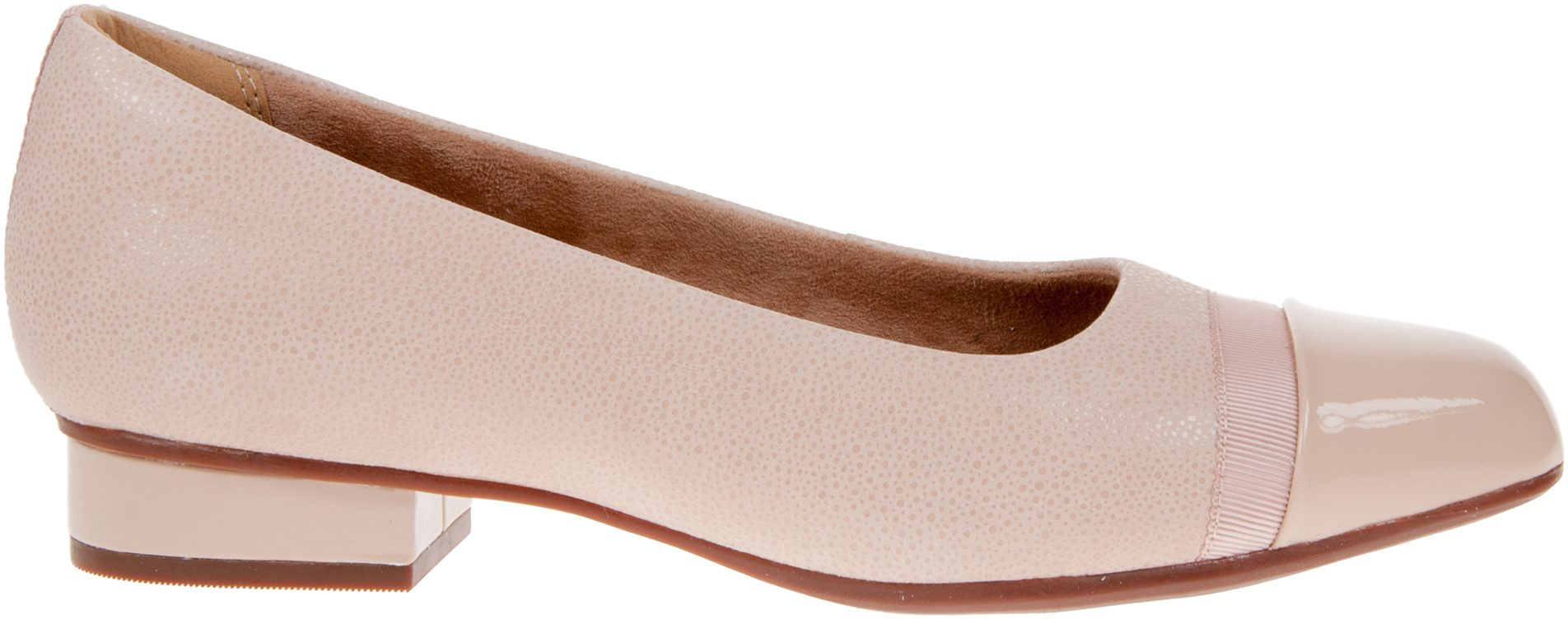 clarks unstructured Size 6 W Keesha Rosa Nude Shoes NIB