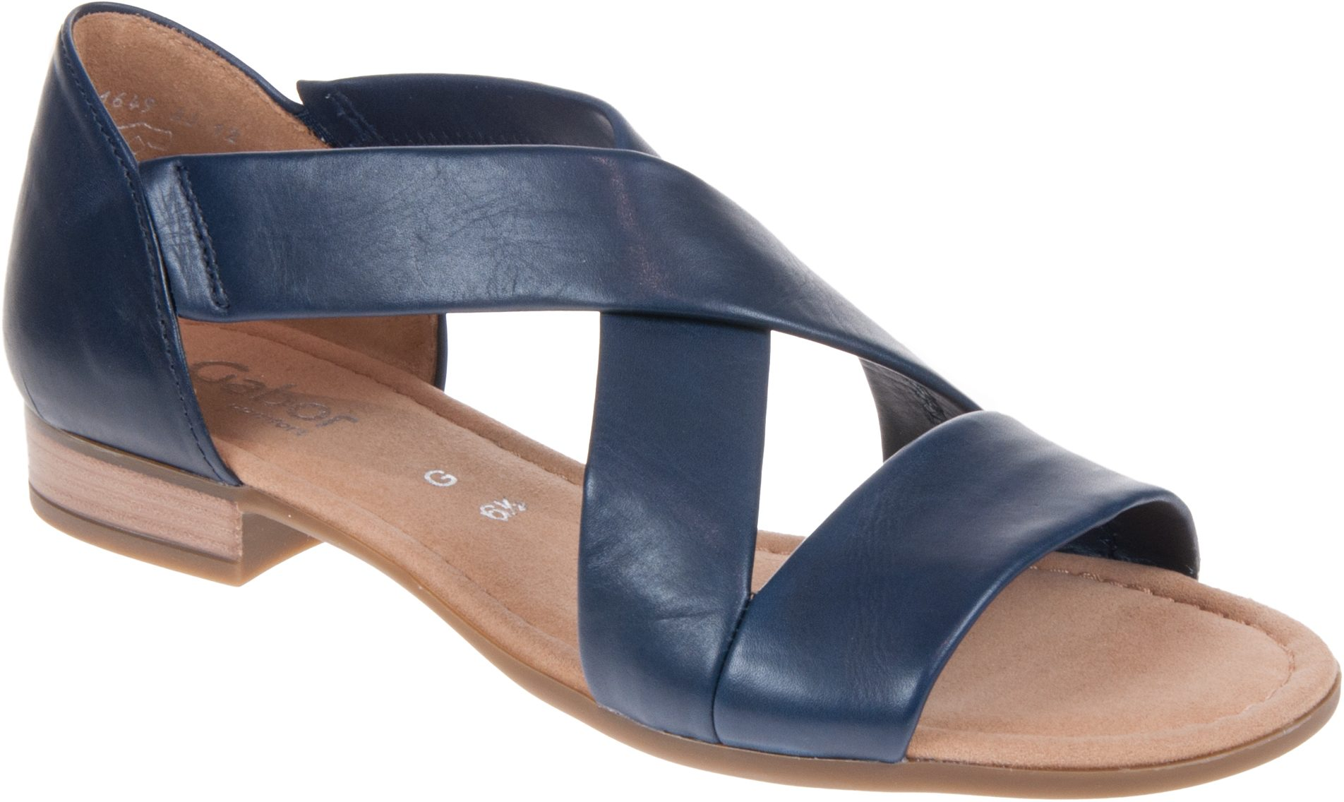 aee69827cc7 Gabor Sweetly Midnight 22.761.56 - Full Sandals - Humphries Shoes