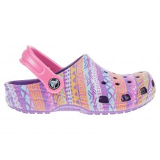 Kids Classic Graphic Clog