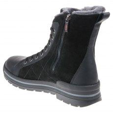 44217833d93 Ecco Babett Ankle Boot Gore-Tex Black Suede 215553 51052 - Outdoor ...