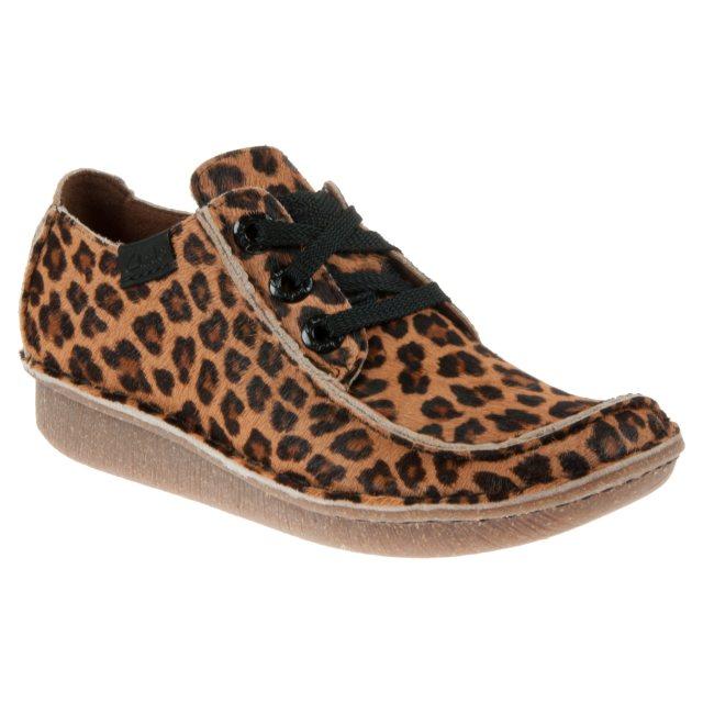 Clarks Funny Dream Leopard Print