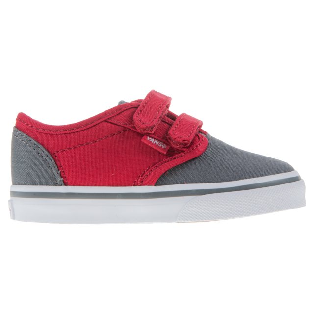 Vans Toddler Atwood Velcro Grey   Red VN0A3 483MF7 - Boys Canvas ... d68979b9df