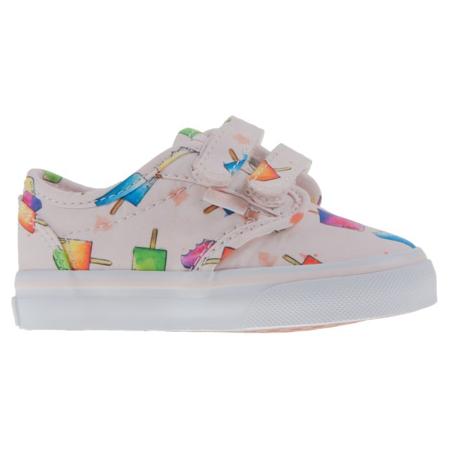 bf2dbfe7e7 Vans Toddler Atwood Velcro Popsicle Multi VN0A3 8E6MNX - First ...