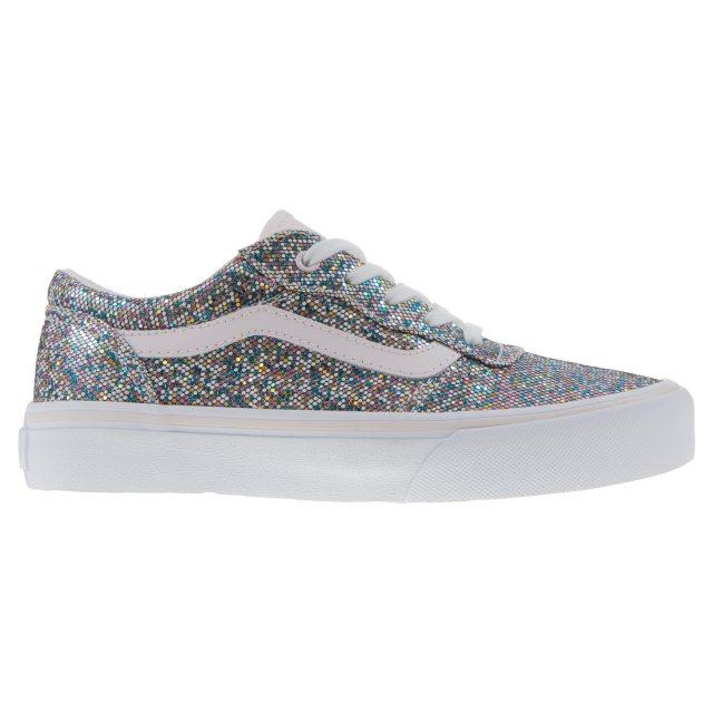 3dbe09f3bc Vans Kids Milton Glitter Multi VN0A3 8DYMND - Girls Shoes ...