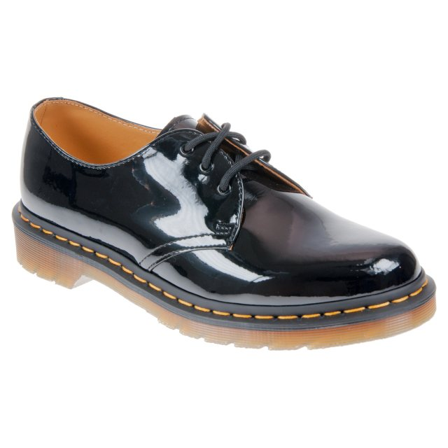0468836f8f Dr. Martens 1461 Black Patent Lamper 10084001 - Everyday Shoes ...