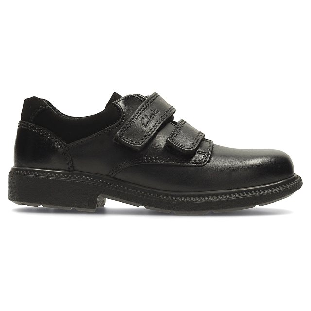 Clarks /'Deaton Inf/' Boys School Shoes /'F/' Fitting