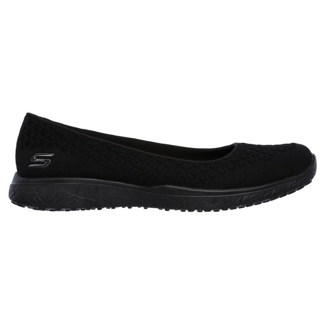 lucha Debería Vista  Skechers Microburst - One - Up Black 23312 BBK - Ballerina Shoes -  Humphries Shoes