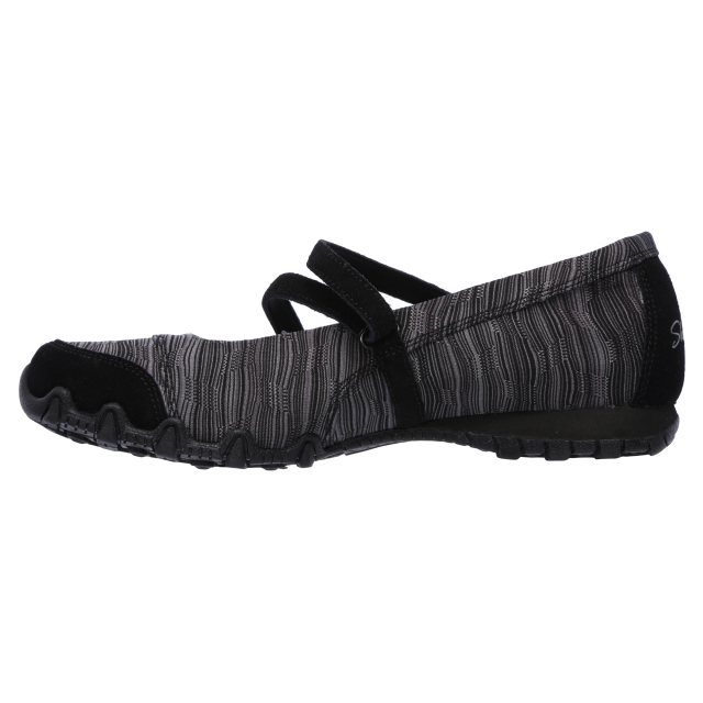 Skechers Bikers Ripples 49343BLK, Ballerinas Weihnachten