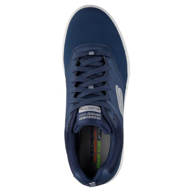 Cusco tema carpeta  Skechers Arcade II - Magavin Navy / Grey 52140 NVGY - Trainers - Humphries  Shoes