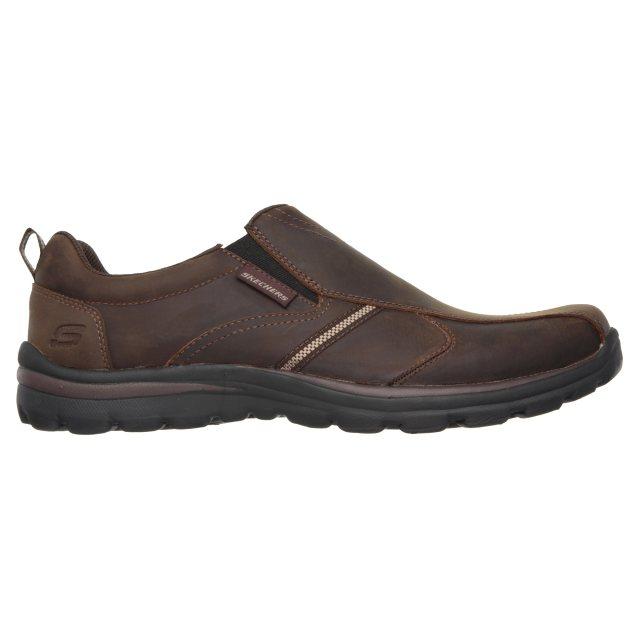 pulgar pistola Disco  Skechers Superior - Misko Brown 64590 CDB - Casual Shoes - Humphries Shoes