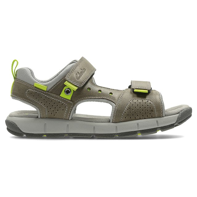 c424e43255a Clarks Jolly Wild Infant Grey Leather 26123888 - Boys Sandals ...