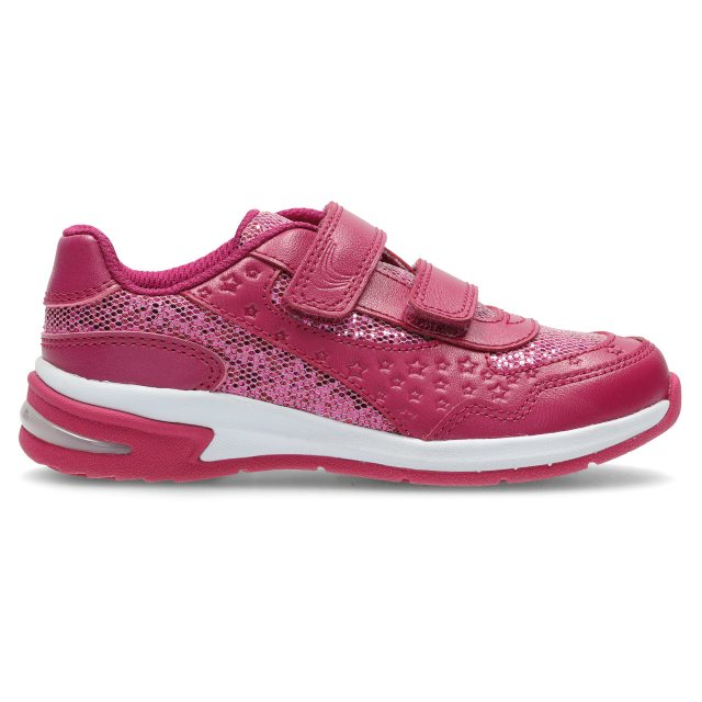 Clarks Piper Play Infant Pink Leather