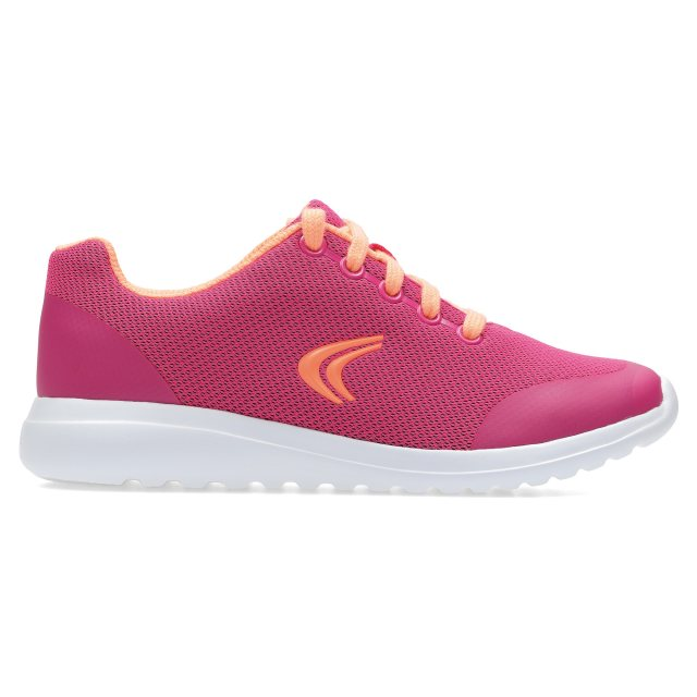 Clarks Sprint Zone Inf Textile Trainers In Purple  SQ4GJA58I
