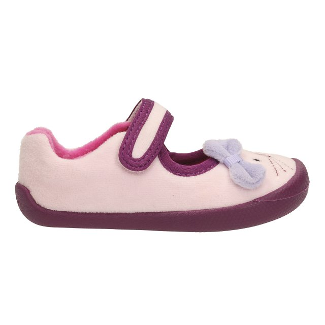 modern design extremely unique rock-bottom price Clarks Shilo Candy First Pink Combi 26120256 - Girls ...
