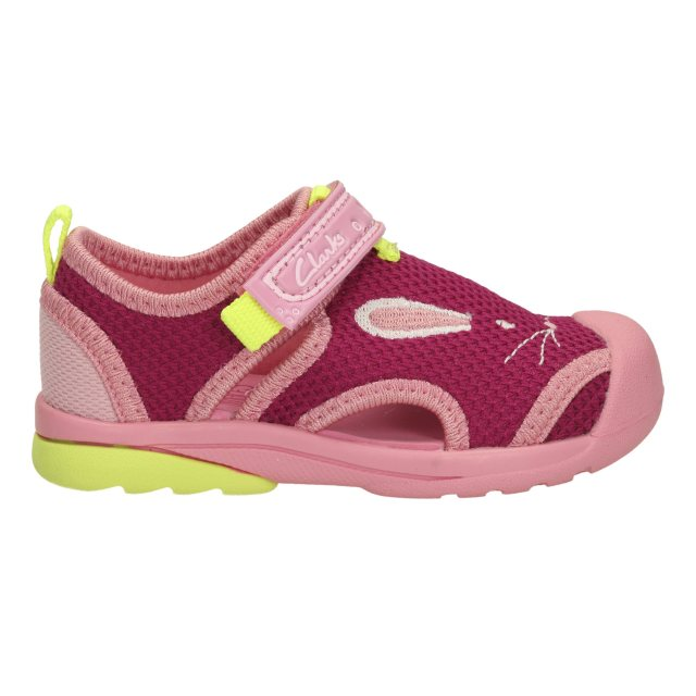 15b84efec Clarks Beach Molly First Pink Combi Syn 26115838 - Girls Sandals ...