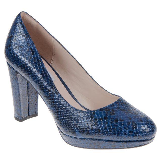 a8e83d665a65 Clarks Kendra Sienna Dark Blue 26120269 - Court Shoes - Humphries Shoes