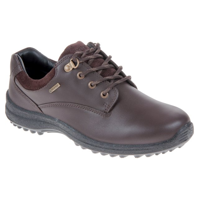 524643e206d37 Hotter Ramble Gore-Tex Mahogany Leather   Suede - Womens Trainers ...