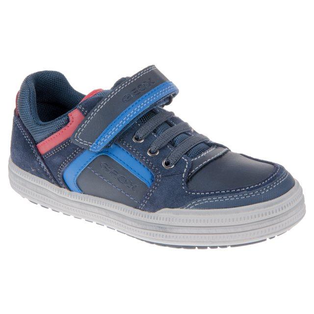 cheap for discount 0865b b3e5a Geox Elvis Navy / Royal J64A4D05422C4226 - Boys Shoes ...