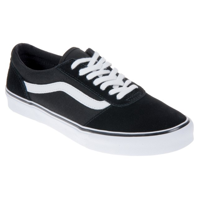 bcedae12406d54 Vans Maddie Black   White VN0A3IL2IJU - Womens Trainers - Humphries ...