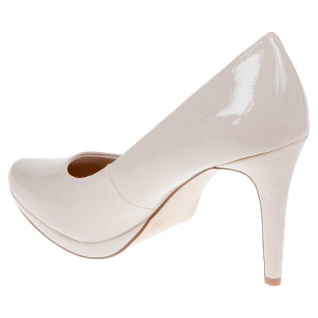 Tamaris Joie Cream 22446 20 403 Court Shoes Humphries Shoes