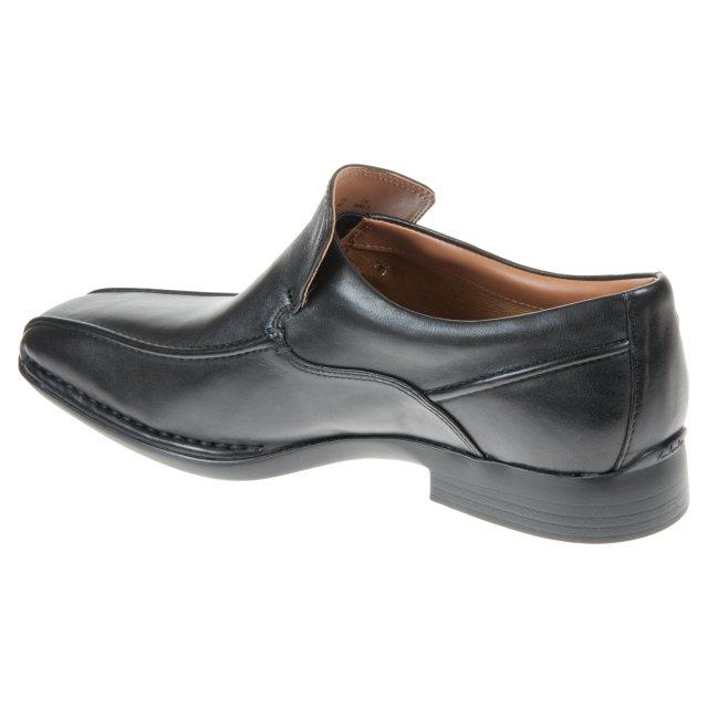 Clarks Francis Flight Black Leather