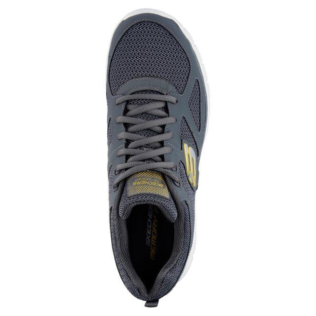 Portero en casa Agrícola  Skechers Burns - Agoura Charcoal 52635 CHAR - Trainers - Humphries Shoes