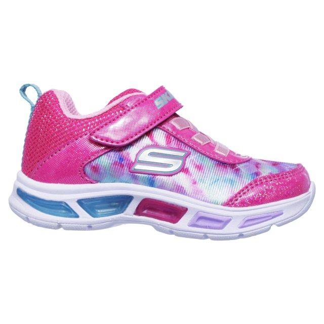Beca Erradicar Molester  Skechers Litebeams - Dance N' Glow Neon Pink / Multi 10921N NPMT - Girls  Trainers - Humphries Shoes