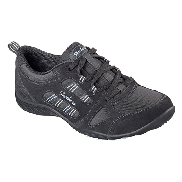 Skechers Breathe Easy Good Luck Charcoal 22544 CCL