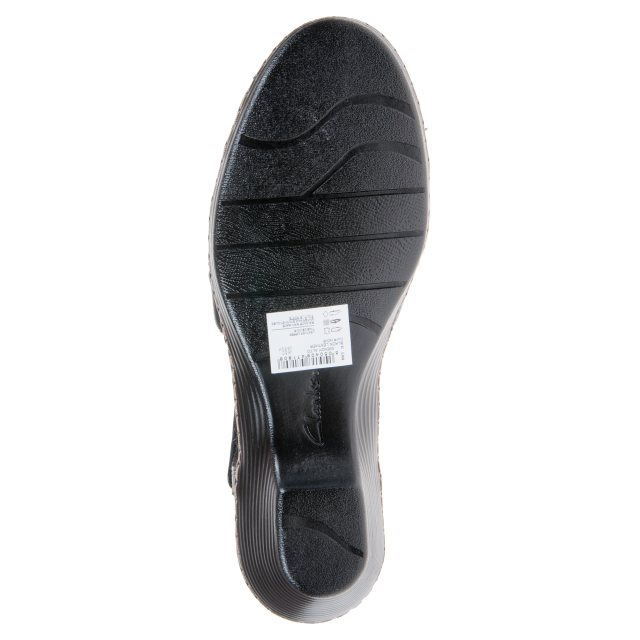 f2b13e3575d9 Clarks Wendy Alto Black Leather 26132061 - Everyday Shoes ...