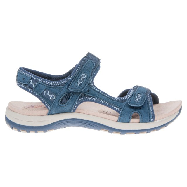 79b3778d6b5 Earth Spirit Frisco Navy Blue 28093 - Full Sandals - Humphries Shoes