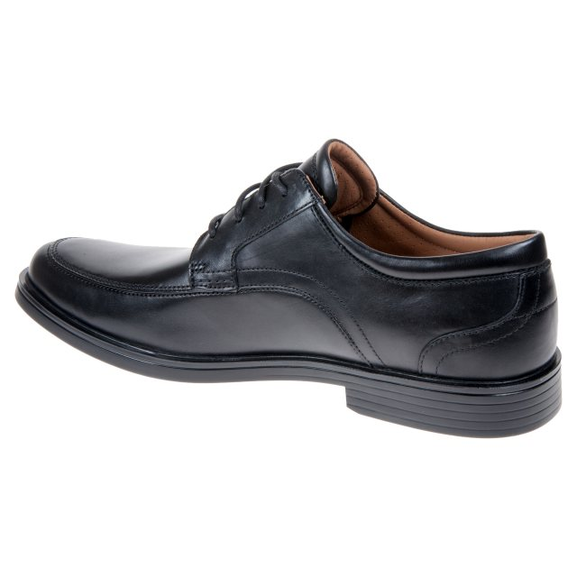 587451196f3 Clarks Un Aldric Park Black Leather 26132576 - Formal Shoes ...