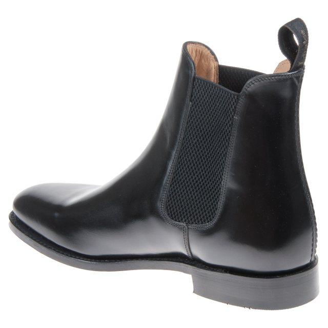 Loake 290 Black Polished Leather 290B