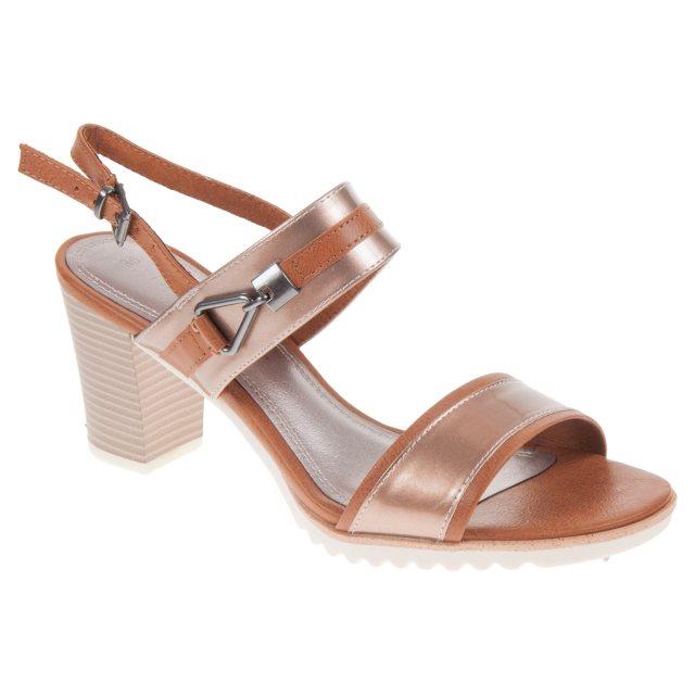 bb464d3a949 Marco Tozzi Paduli 04 Rose Metallic Comb 28704-20 532 - Full Sandals ...