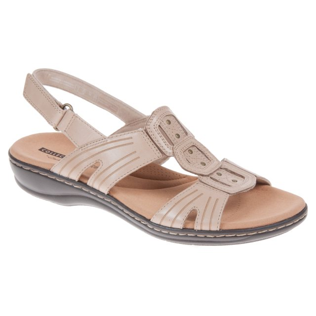 75eb0298de4 Clarks Leisa Vine Sand Leather 26134115 - Full Sandals - Humphries Shoes