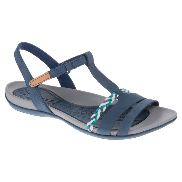 4e445a780 Clarks Tealite Grace Navy 26123894 - Full Sandals - Humphries Shoes