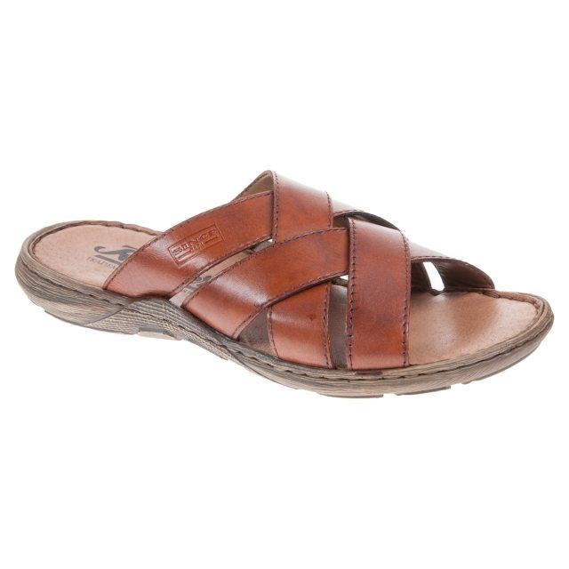 17a76c1fd7e1 Rieker Rene Brown 22098-24 - Mule Sandals - Humphries Shoes