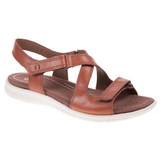 006d130ab Ecco Babett Sandal Mahogany 214093 01195 - Full Sandals - Humphries ...