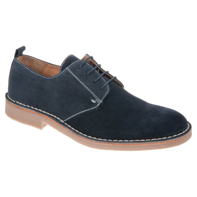 Loake Mojave Navy Suede - Casual Shoes