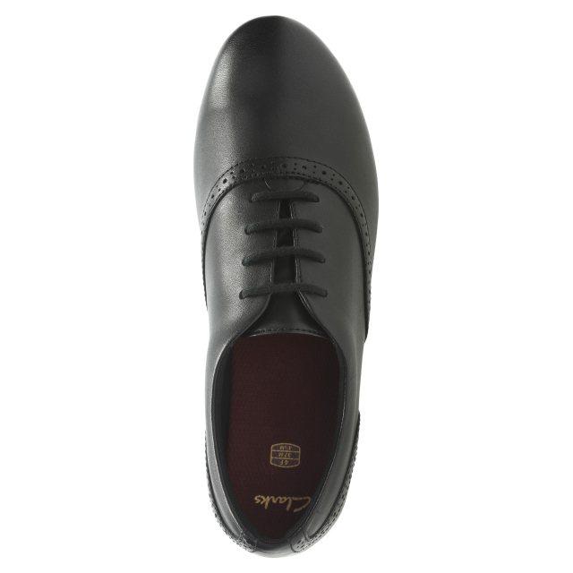 Clarks Jules Walk Black Leather
