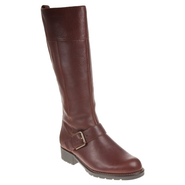 Saga Prisionero cohete  Clarks Orinoco Jazz Tan Warm Lined Leather 26138195 - Knee High Boots -  Humphries Shoes
