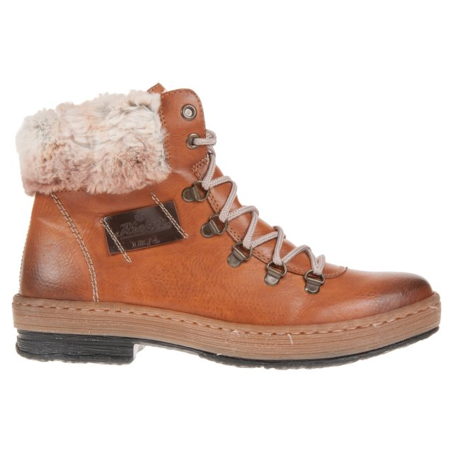 d783aab93f499a Rieker Eagle Brown Z6743-24 - Ankle Boots - Humphries Shoes