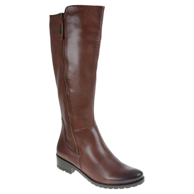 c68abd62e1 Caprice Franka Brandy 9-25604-29 320 - Knee High Boots - Humphries Shoes