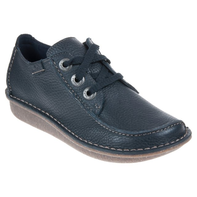 998d762e063f0 Clarks Funny Dream Navy 20301123 - Everyday Shoes - Humphries Shoes